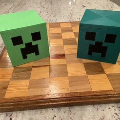 Download free 3D printer model Case for the Complete Minecraft Chess Set, Hardcore3D