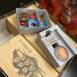 Download free 3D model Blood Rage - Bit Storage with Cards Separated, Hardcore3D