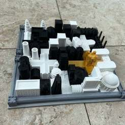 2020-05-14_12.30.45.jpg Download free STL file Cathedral Board Game v2 • Template to 3D print, Hardcore3D