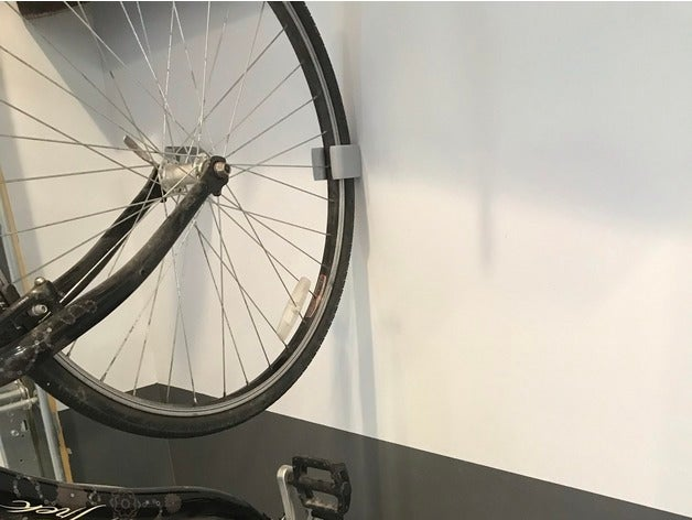 54578611656798245210940077c32ced_preview_featured.jpg Download free STL file Bike Wall Holder • Design to 3D print, Hardcore3D