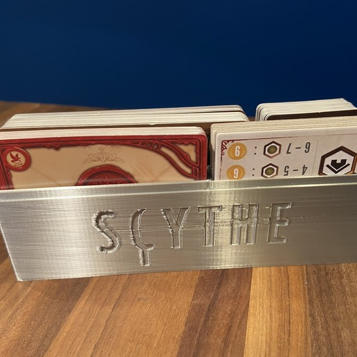 Télécharger fichier imprimante 3D gratuit Porte-cartes Scythe, Hardcore3D