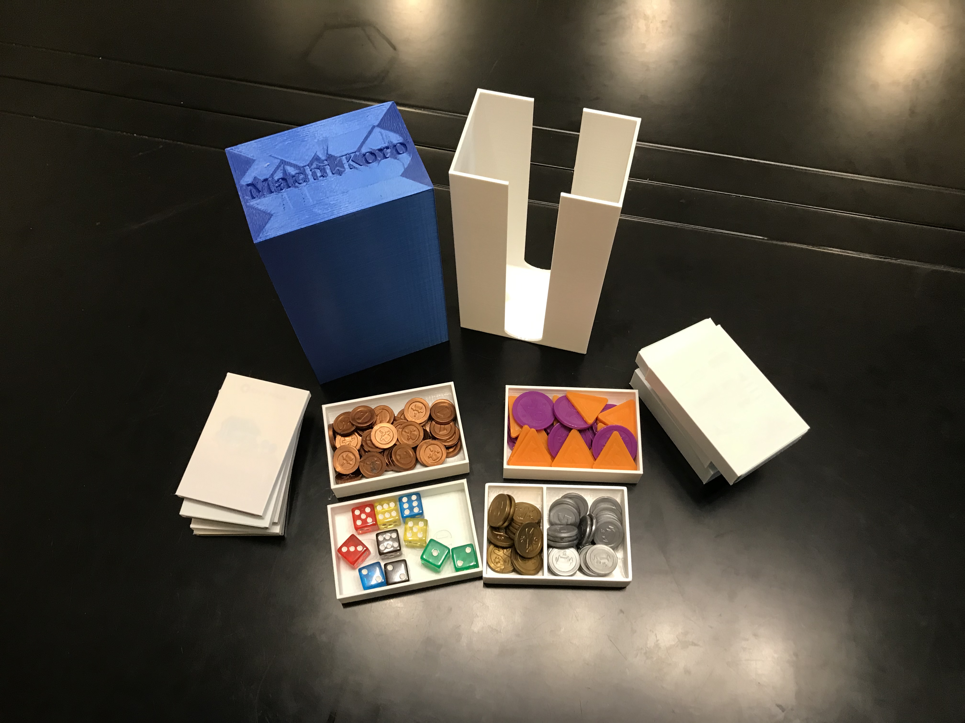 2019-09-23_11.34.14.jpg Download free STL file Machi Koro 5th Anniversary with Expansions • Model to 3D print, Hardcore3D
