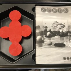 Download free 3D printer model ZERTZ Disc Holder, Hardcore3D