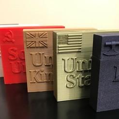 Download free 3D printer model Quartermaster General Player Cases, Hardcore3D