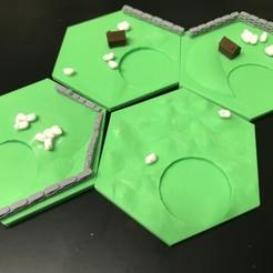 2019-09-02_01.47.45.jpg Télécharger fichier STL gratuit Carreaux de laine Catan - Buse simple, couches multicolores • Modèle imprimable en 3D, Hardcore3D