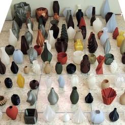 Imprimir en 3D gratis La colección de jarrones 101, WRIGHTMEDIA