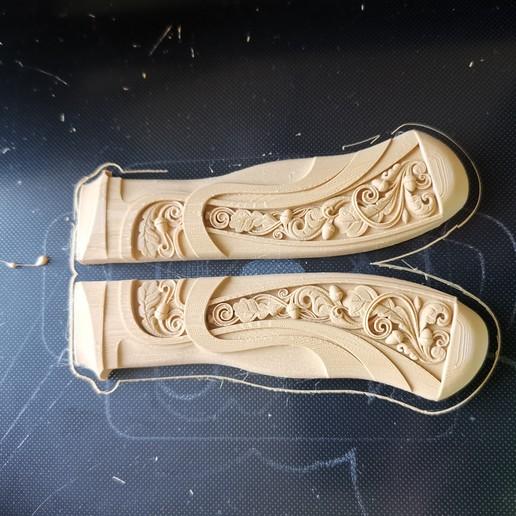 Download free 3D printer model knife dague saber handle, filipcuk