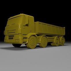 4.jpg Download free STL file Dump Truck Inveco for Print • Object to 3D print, Sim3D_