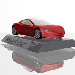17.jpg Download STL file Tesla Roadster 2020  3D MODEL FOR 3D PRINTING STL FILES • 3D printable design, Sim3D_