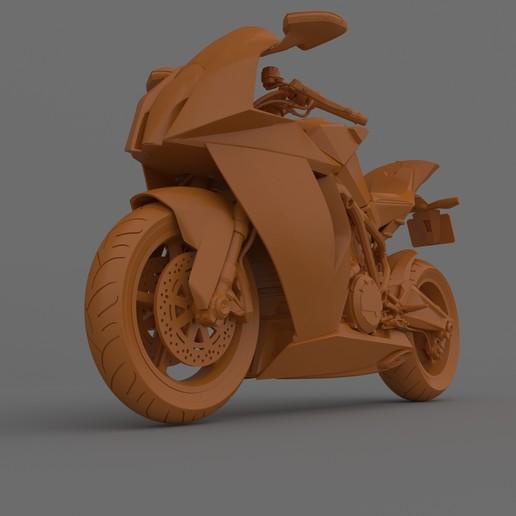 Download 3D printer designs KTM 1190 RC8 2011-2015 Motorcycle Ready for Print, Sim3D_
