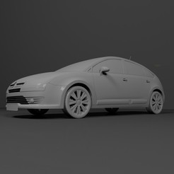 2.jpg Download free STL file Citroën C4 2004-2010 READY FOR PRINTING • Design to 3D print, Sim3D_