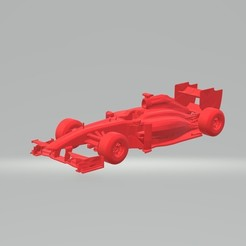 Télécharger fichier impression 3D Formule 1 Voiture de Formule 1 MODÈLE 3D MODÈLE SUR MESURE FICHIER D'IMPRESSION 3D STL FILE, 3Dplace