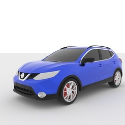 6.jpg Download STL file Nissan Qashqai 2013-2018 for 3D Printing • 3D printing design, Sim3D_