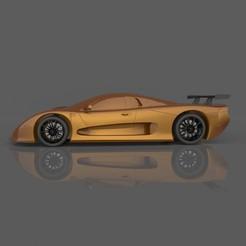 7.jpg Télécharger fichier STL gratuit Modèle 3D de la Mosler MT900 pour l'impression de voitures et de miniatures RC • Plan pour imprimante 3D, Sim3D_