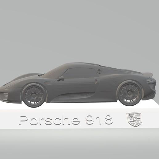 Download 3D Printer Model Porsche 918 3D CAR Model HIGH
