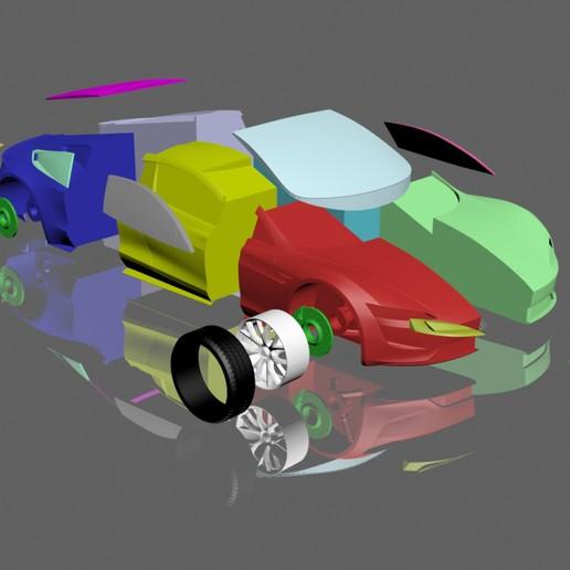 3d 2012 Tesla Roadster Sport: Download 3D Printing Models Tesla Roadster 2020 3D MODEL