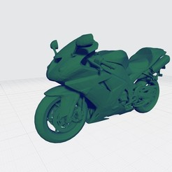 1.jpg Download STL file KAWASAKI NINJA 2006 3D MODEL CUSTOM READY PRINTING STL FILE • 3D print template, Sim3D_