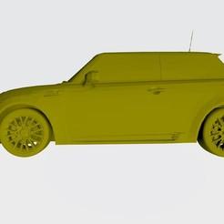 Télécharger plan imprimante 3D gatuit Modèle 3D de Mini Cooper Stl, Sim3D_