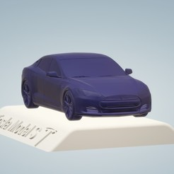 Télécharger fichier 3D Tesla Model S 3D MODEL CAR CUSTOM 3D PRINTING 3D STL FILE FILE, punkds87