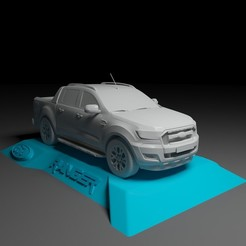 Download 3D printer designs FORDRANGER WILDTRAK FOR 3D PRINTING STL FILES, Sim3D_