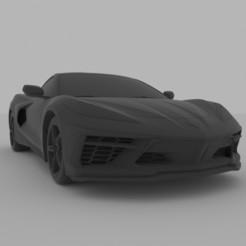 Descargar archivo 3D Chevrolet Corvette C8 2020 para la impresión en 3D, Sim3D_
