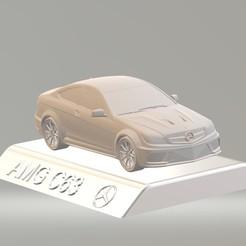 Download 3D printing models 3D Mercedes Benz Amg C63 CAR MODEL HIGH QUALITY 3D PRINTING STL FILE, punkds87