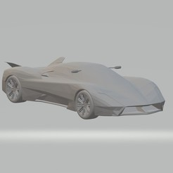 Download free STL file SSC Tuatara 3D Model Car For Printing , 3Dplace