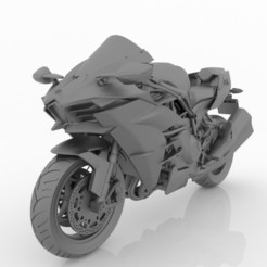 1.jpg Download free STL file Motorcycle Kawasaki Ninja H2 3D Model for Print STL File  • 3D printing model, Sim3D_