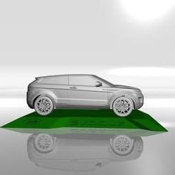 4.jpg Download STL file RANGE ROVER EVOQUE MODEL FOR 3D PRINTING STL FILES • 3D print model, Sim3D_