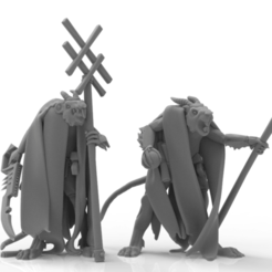 untitled.520.png Download STL file Cheese Stealer Cult - Warlocks • 3D printable design, ThatEvilOne