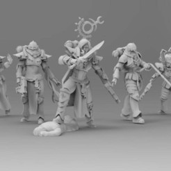 Download free OBJ file Miriael Sabathiel - Primordial Coven • Object to 3D print, ThatEvilOne