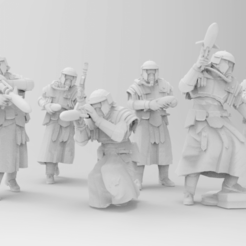 Download free 3D printer files Tread Killers - Roman Missile Teams, ThatEvilOne