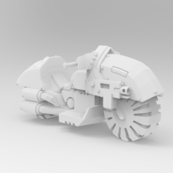 Download free STL file Pre Schism WarBike • 3D printer template, ThatEvilOne
