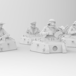 Download free 3D printer files Roman Legions - Tank Crew, ThatEvilOne
