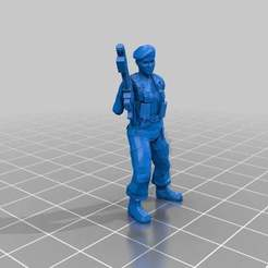 Download free 3D printer model Jungle Fighter Female, ThatEvilOne