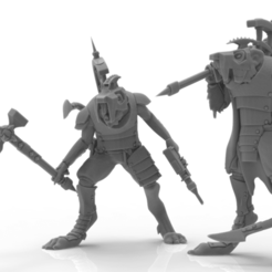 Download STL file Cheese Stealer Cult - Warlord • 3D printer model, ThatEvilOne