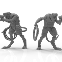 Download STL file Cheese Stealer Cult - Slave Overseer • 3D printing template, ThatEvilOne
