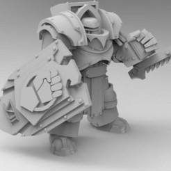 Download free STL file Legion Elites - 7th Legion Vigil Wardens • Design to 3D print, ThatEvilOne