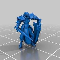 Download free 3D printing designs Sisters Crusaders, ThatEvilOne
