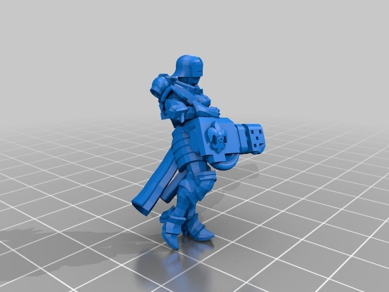 9696412b20aaea0e114d0456077510ec_display_large.jpg Download free STL file Sisters Heavy Bolter/Flamer • Model to 3D print, ThatEvilOne