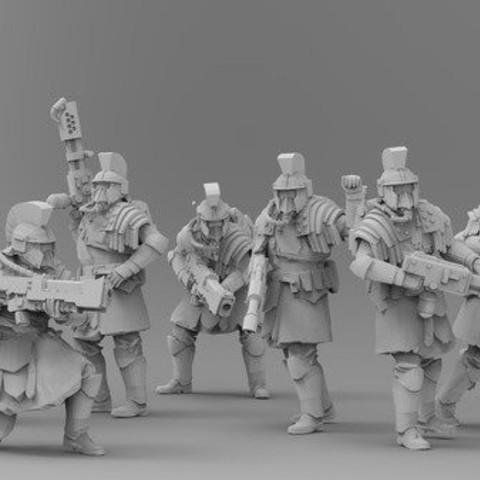 Descargar diseños 3D gratis Triarii - Desmontado, ThatEvilOne