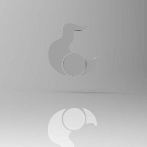 Download free STL Tzeentch Symbol, ThatEvilOne