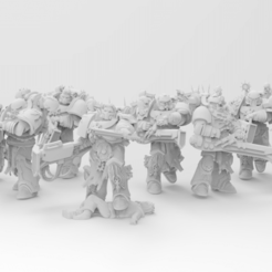 Download free 3D print files Things Shall Get Loud Now - The Kakophanii, ThatEvilOne