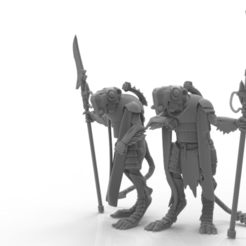 Download STL file Cheese Stealer Cult - Brood Guard • 3D printable model, ThatEvilOne