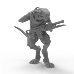 Download free STL file VILE RATTUS! - Kickstarter Preview • 3D print template, ThatEvilOne