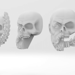 Download free OBJ file Legio Krytos - The God Breakers • Object to 3D print, ThatEvilOne