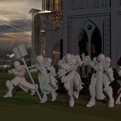 Download free 3D printing models Sisters Command Retinue, ThatEvilOne