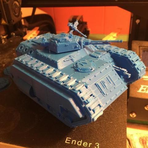 Impresiones 3D gratis Kimera Armoured Transport - Lanza el asalto, ThatEvilOne