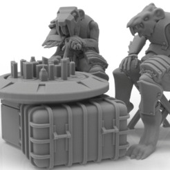 Download 3D printer designs Cheese Stealer Cult - Brood Mother, ThatEvilOne