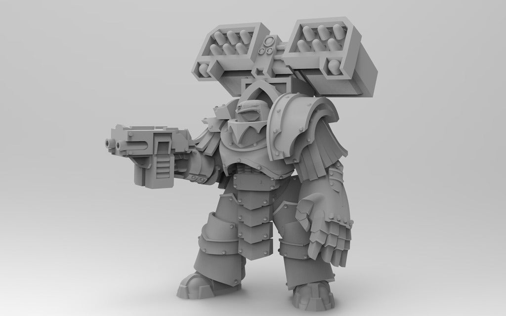 32845209f5224bf2609d2126b89a3456_display_large.jpg Download free OBJ file Legion Elites - 4th Legion Siege Breakers • 3D printable model, ThatEvilOne